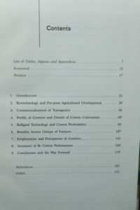 Cess-book-Bio-technology in Indian Agriculture-2010-contents