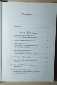 Cess-book-Essays on Inclusive Growth -2014-content