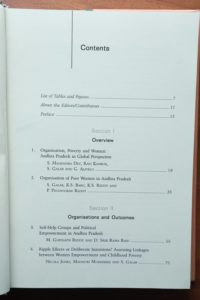 Cess-book-Orgnizing Poor Women_ The Andhra Pradesh-2012-contents