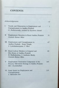 Cess-book-Review of Employment Trends and Programmes-1995-contents