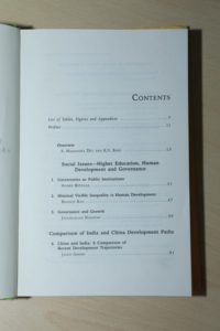 Cess-book-Some Aspects of Economic and Social Development-2008-covntent